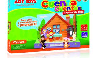Cuenta Cuentos Caperucita Rojas Art Toys