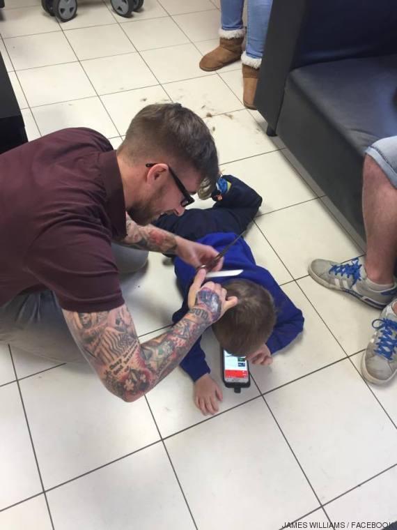 peluquero autista