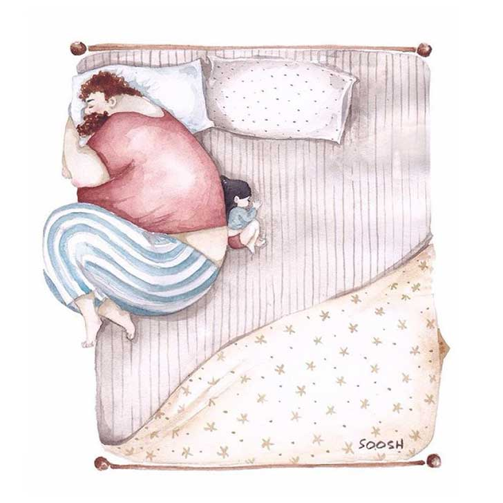 ilustraciones papa hija 7